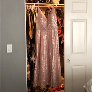 Morile Madeline Gardner Rosegold dress